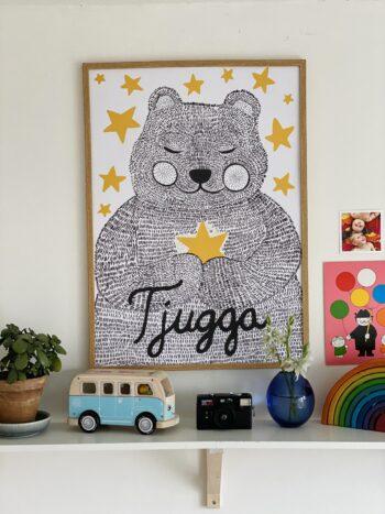 Plakat med Tjugga