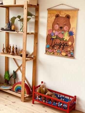 Plakatophæng til børneværelset