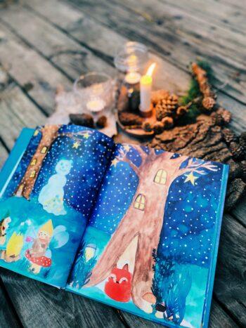 Julebog for børn - Vinter i Natskoven