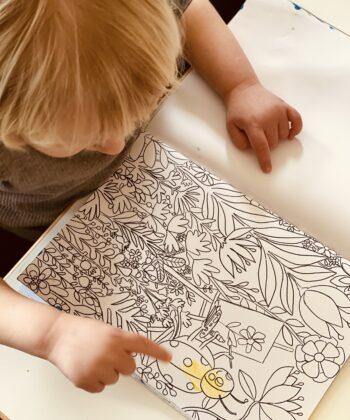 Fingermaling til børn