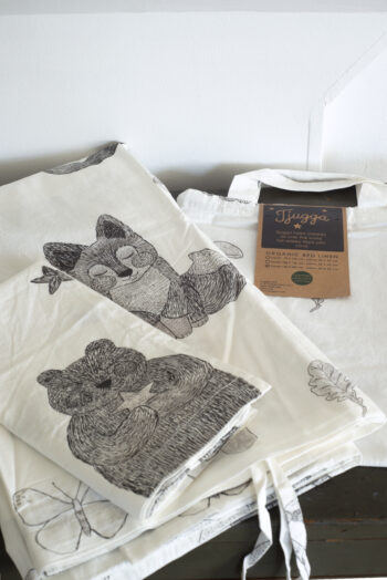 Tjugga® sengetøj, Baby 70x100cm - økologisk